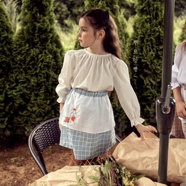 【新作予約】【pourenfant】Marie blouse