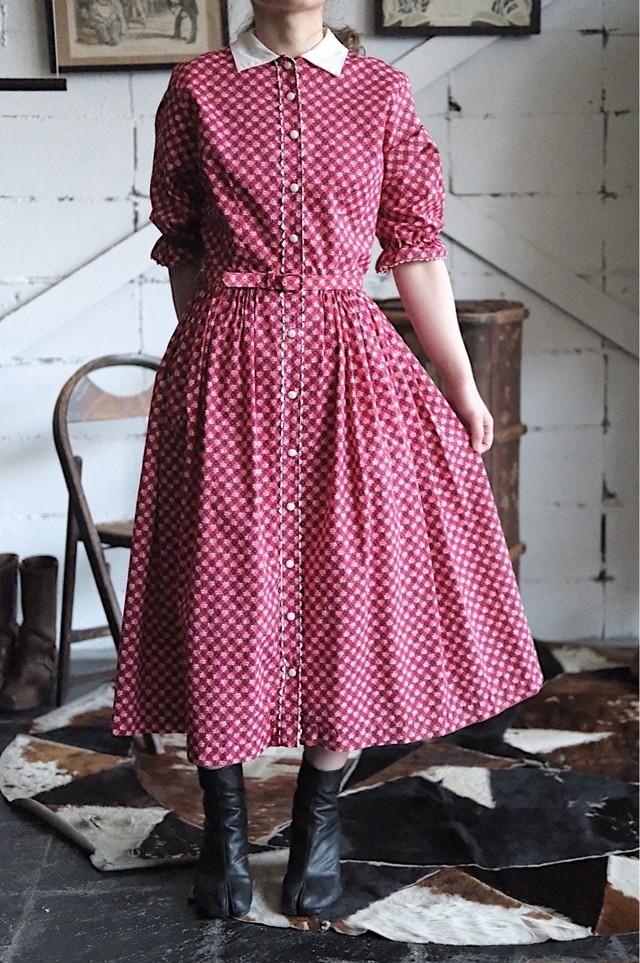 50s red dress