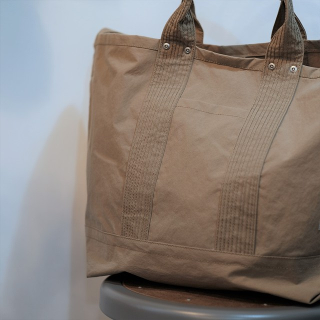 ENDS and MEANS(エンズ アンド ミーンズ)2way Tote -Beige- #EM-ST-A01-AW19