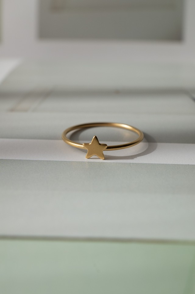 Tiny Star Ring - 005