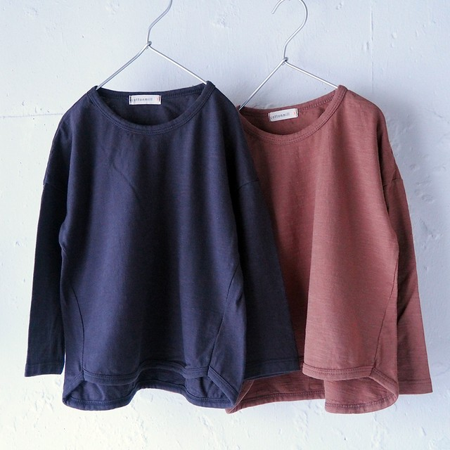 «即納» basic slub-long Tee ロングスリーブ