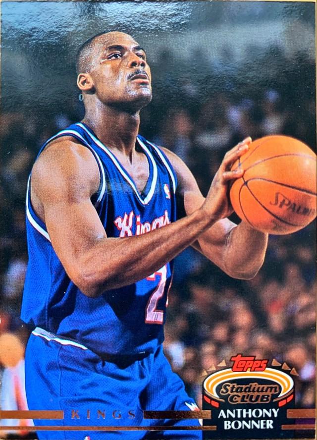 NBAカード 92-93TOPPS Anthony Bonner #40 KINGS