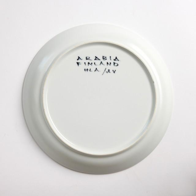 ARABIA アラビア Aurinkoruusu アウリンコルース ひまわり 200mm皿 - 4 北欧ヴィンテージ