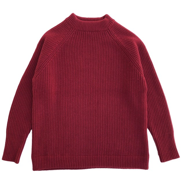 Cashmere Low Knit/RED