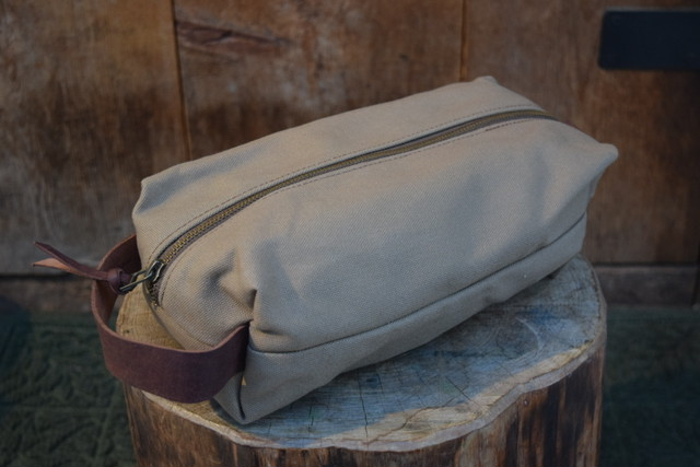 新品 Original Heavyduty pouch TAN -Large G06