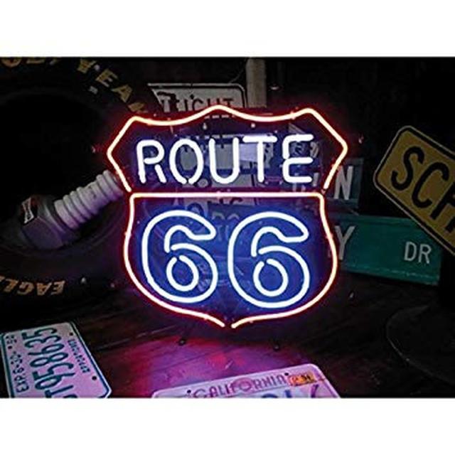 【送料無料】ROUTE66 ネオン管 ライト  ルート66 るーと66 route66
