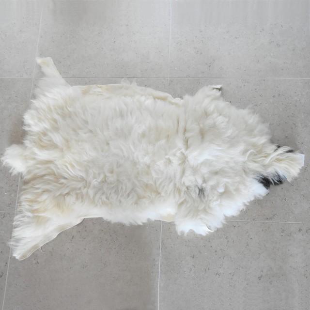 ムートンラグ 125cm×88cm③