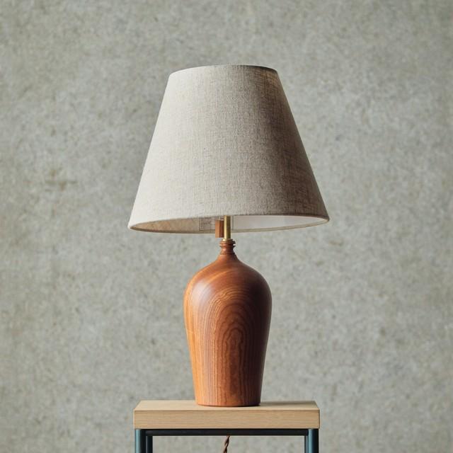 燈台 / Table Lamp-022 / 欅