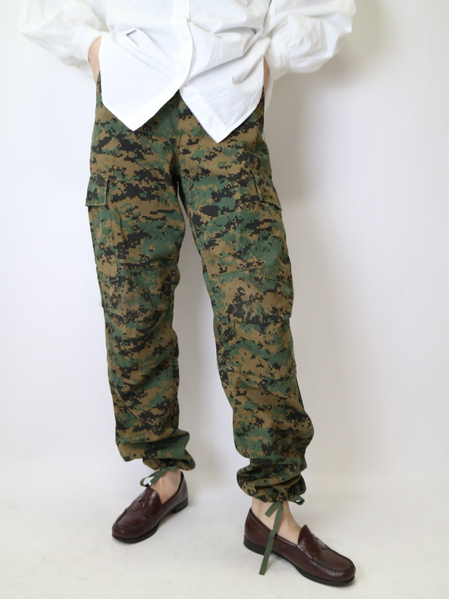digital camouflage pants【0926】