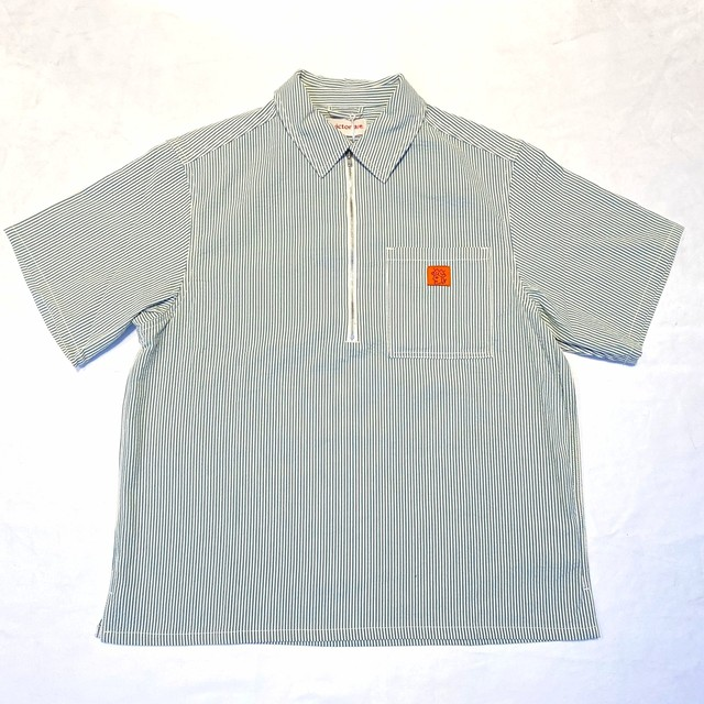 VICTORIA HK PULLOVER S/S SHIRT GREEN