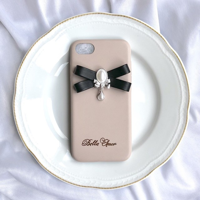 Perl ribbon iPhone case