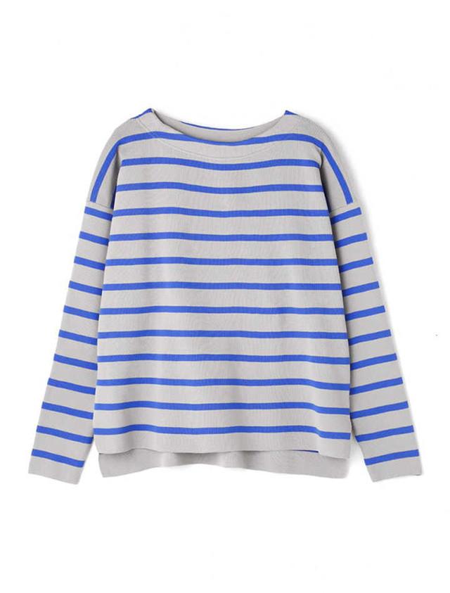 Strech border pullover Blue / Luxfut