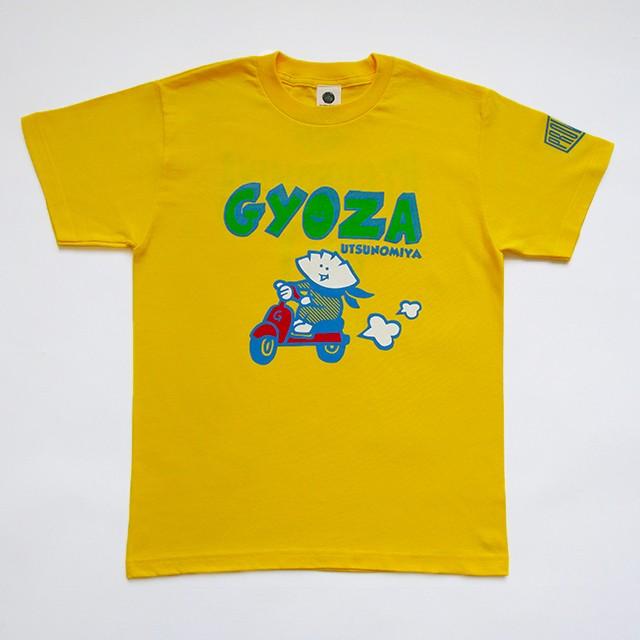 Tシャツ スクーターGYOZA イエロー