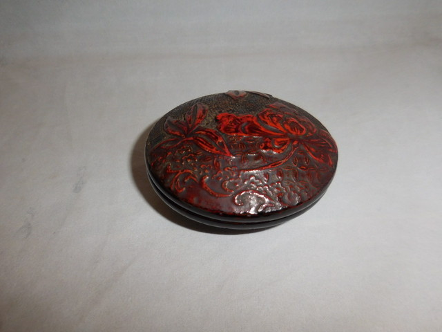 重ね蓋物 Urushi lacquer box and cover