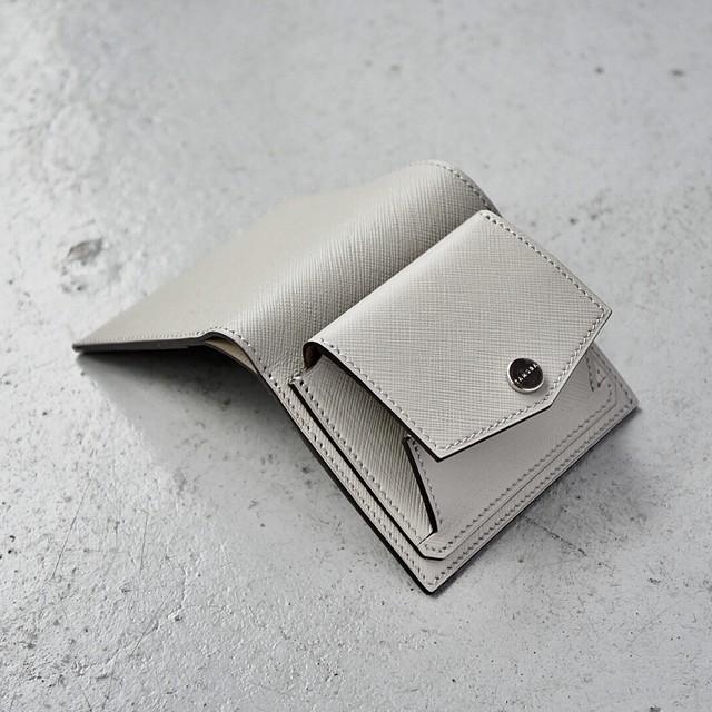 ミニ財布 <Shaula> ライトグレー