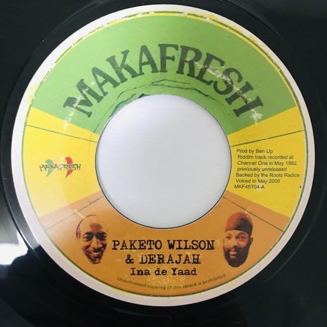 Paketo Wilson & Derajah - Ina de Yaad【7-10979】