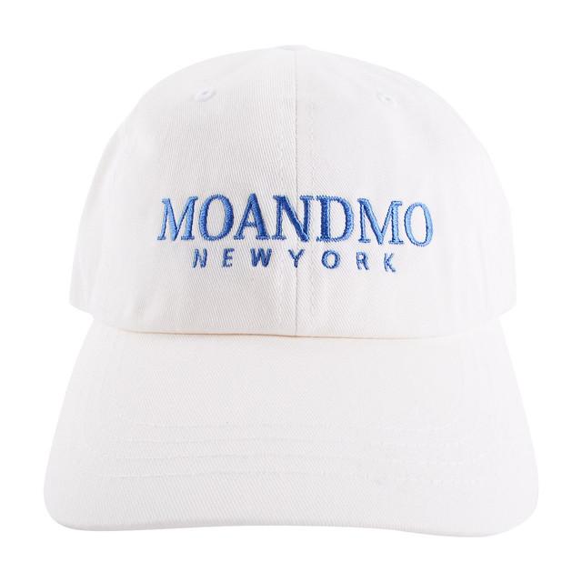 MOANDMO LOGO Twill Dad Cap / Black