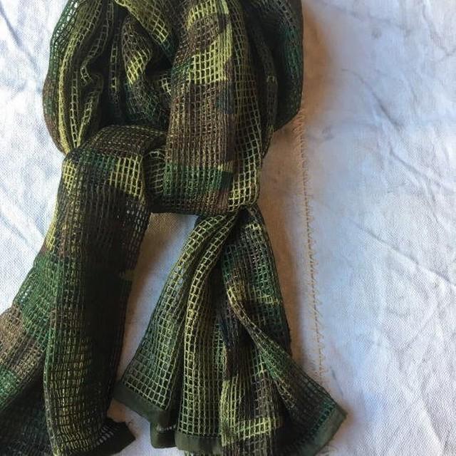 ウッドランド メッシュスカーフ