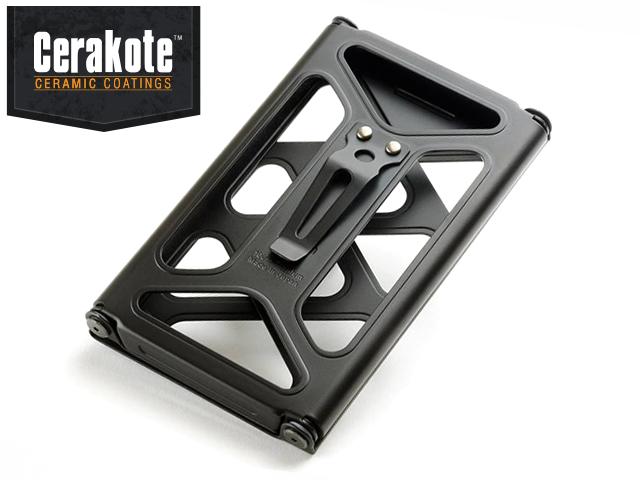 CERA-BLACK Titanium + CLIP Cardcase - メイン画像