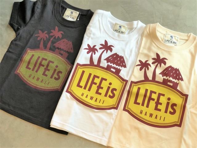 6/13(金)21時発売!キッズLIFEis LANIKAI tシャツ(三種)¥2990+tax