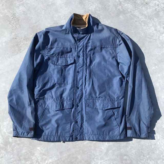 70's SIERRA DESIGN PANAMINT ジャケット シエラデザイン パナミント ネイビー ベージュ 初期 60/40 無刻印ボタン 7本木 C&Cジッパー L 希少 ヴィンテージ アウトドア