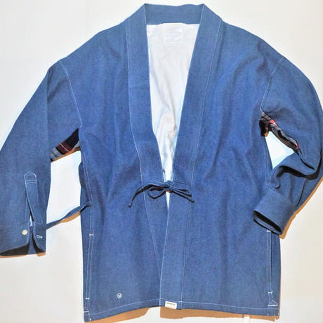 UUU. -DENIM Samuei Jacket(BLUE)