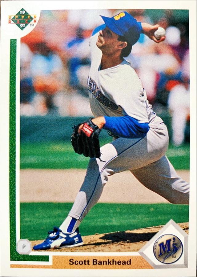 MLBカード 91UPPERDECK Scott Bankhead #294 MARINERS