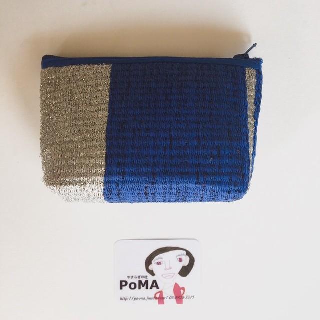 手織りポーチ(小)