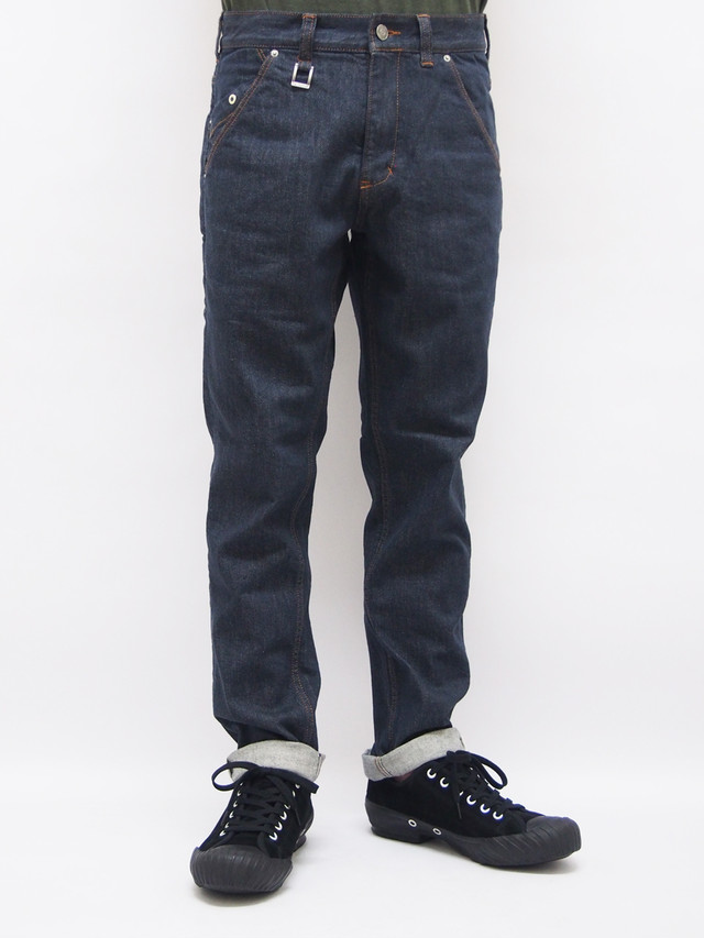 EGO TRIPPING (エゴトリッピング) NERD DENIM one wash / INDIGO 623550-58