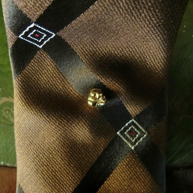 Tie tack -gold gelato- タイタック ~金のジェラート~