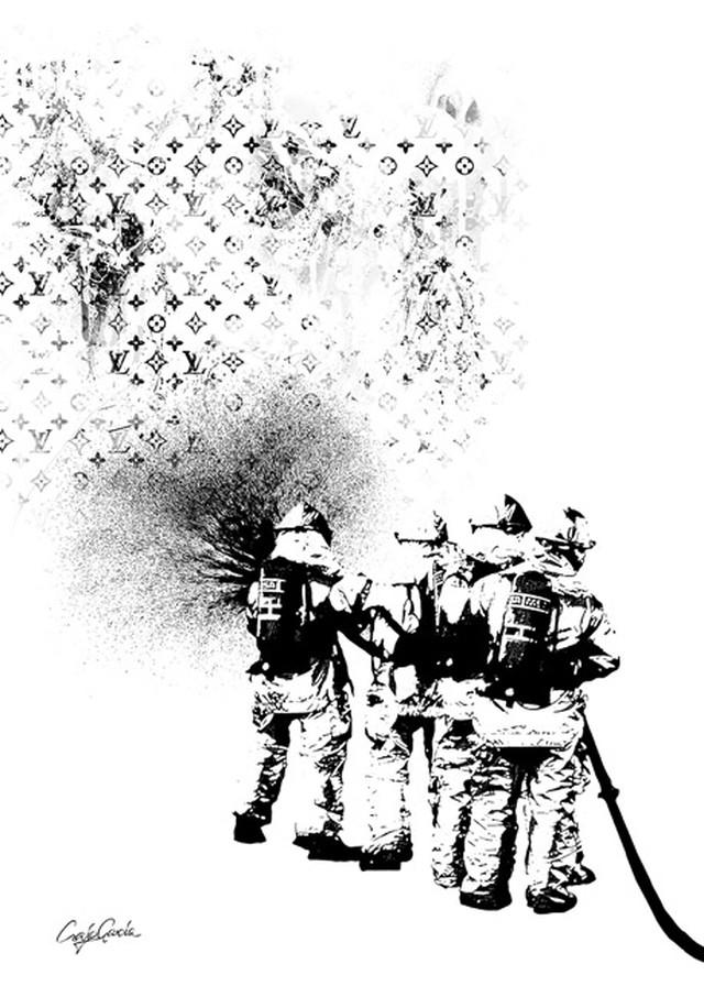 Craig Garcia 作品名:Thing 01  A1キャンバスポスター【商品コード: cgthng01】