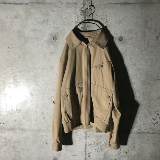 [Christian Dior]dark beige military jacket