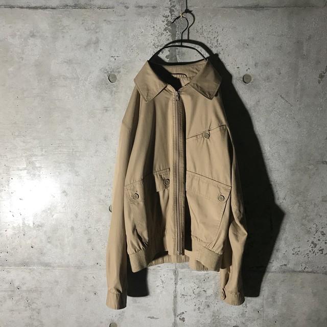 [Christian Dior]dark beige military jacket