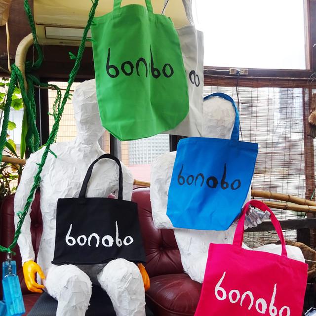 [ BAG ] bonoboロゴトートバッグ ( LG / LM / TB / BK / HP )