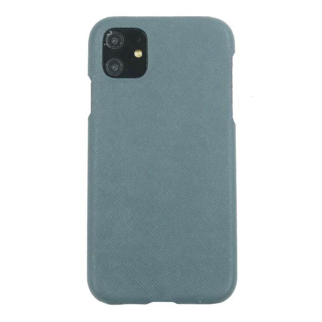 【青グレー】シンプルケース iPhone / Galaxy / Xperia /  Googlepixel / Huawei / Oppo Reno / AQUOS