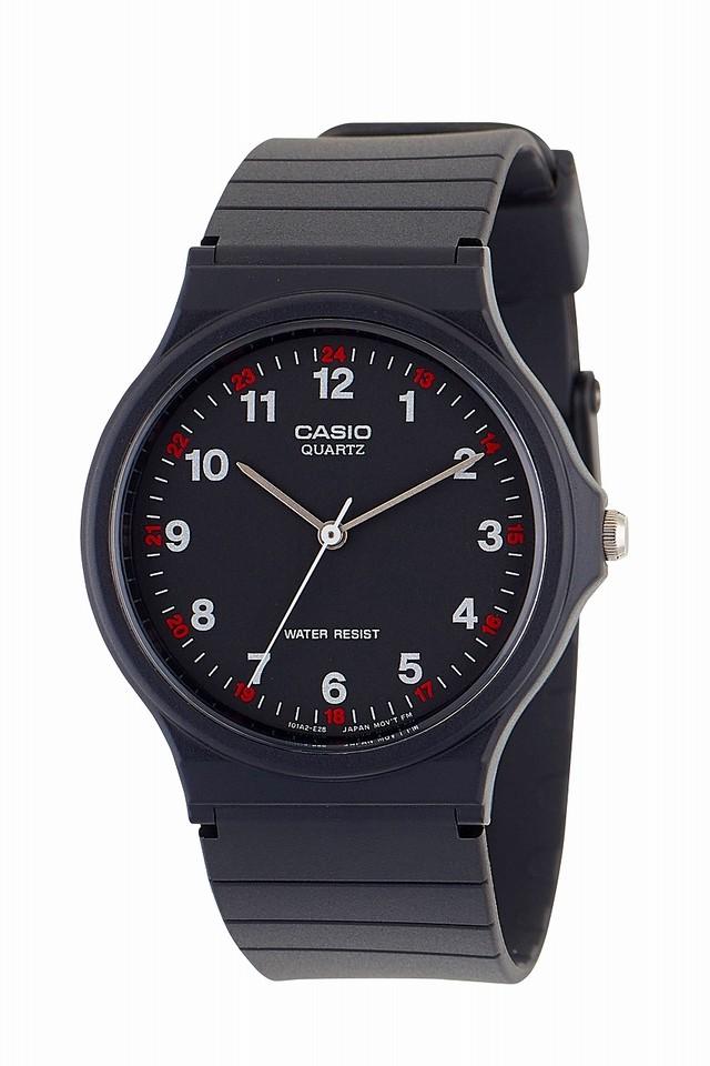 CASIO MQ-24-1BL  チープカシオ カシオ アナログ