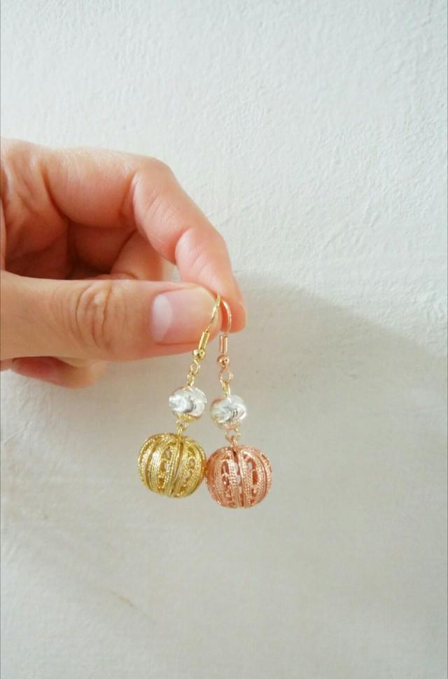 ランタンピアス/ Lantern earring