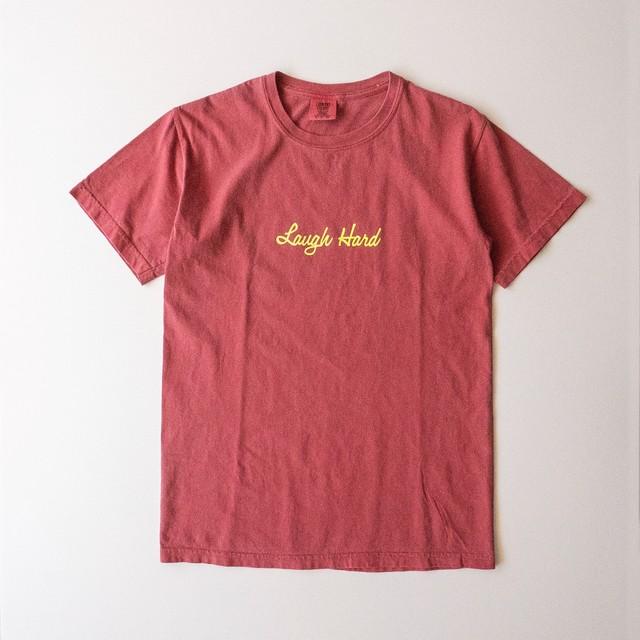 ガーメントダイTシャツ クリムゾン(T00009-01)
