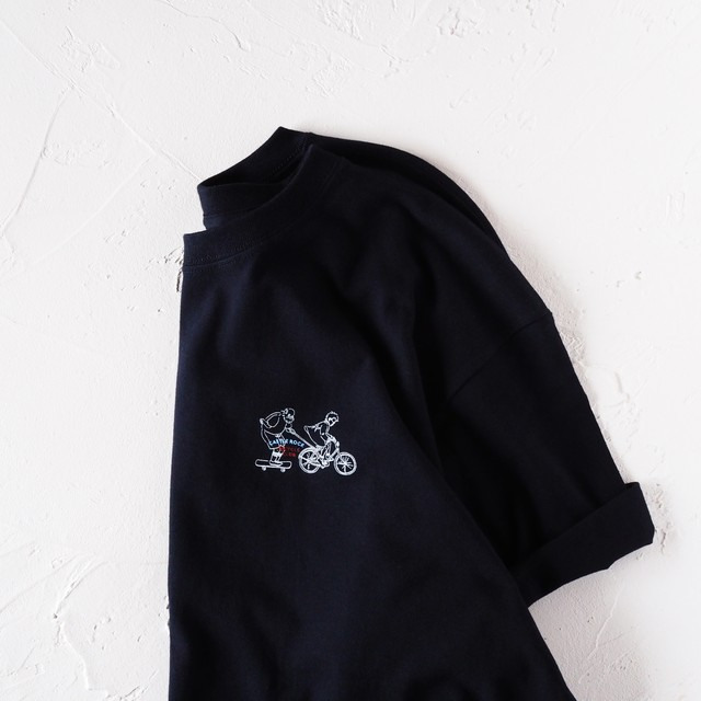 Grandpa TEE Dark Navy(Tシャツ)