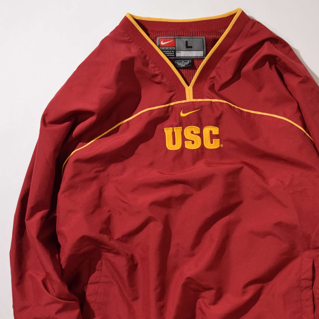 【Lサイズ】 NIKE ナイキ USC ANORAK ジャケット BURGNDY 400610190811
