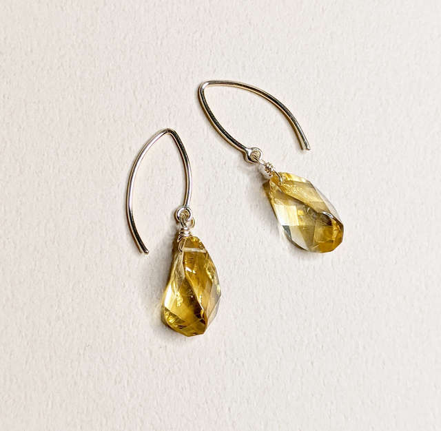 Citrine earrings | MIHO meets RUKUS