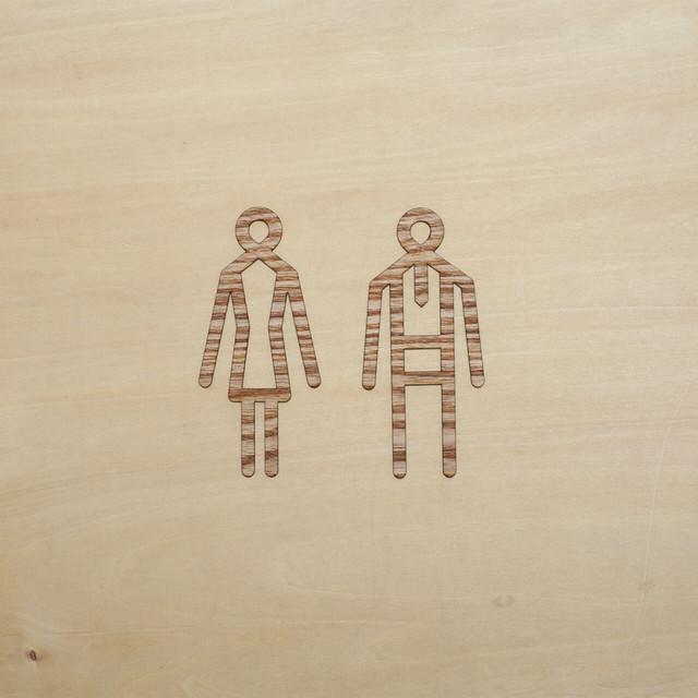 toilet sign / トイレサイン