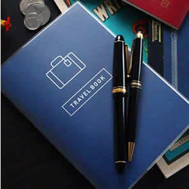 趣味ノート 旅行 ブルー WA-080-BL
