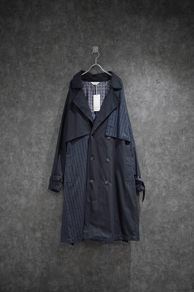 【winter Special price】 Jieda SWITCHING TRENCH COAT