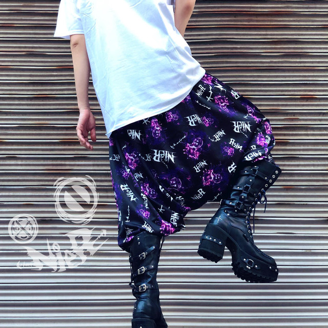 Purple Sarrouel pants