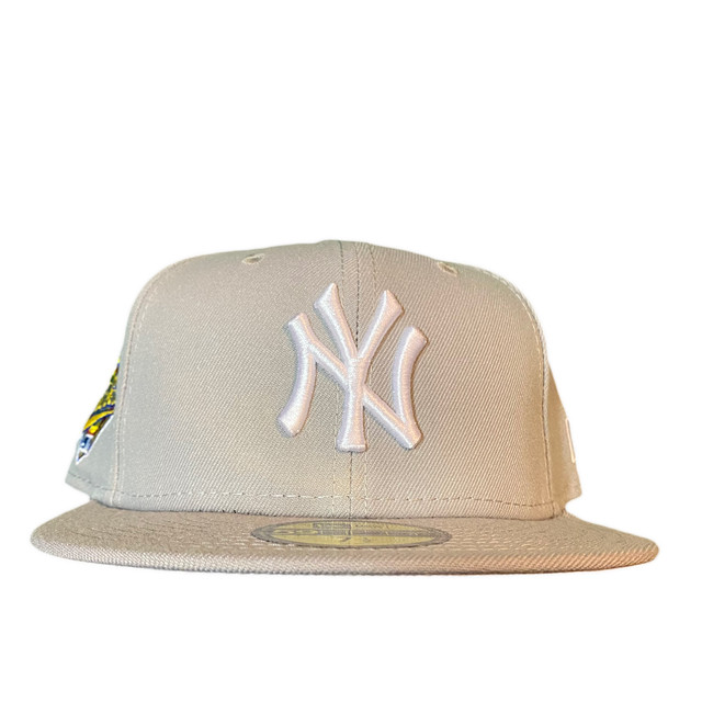 NEW ERA New York Yankees 1996 World Series 59Fifty Fitted / Grey×White (Gray Brim)