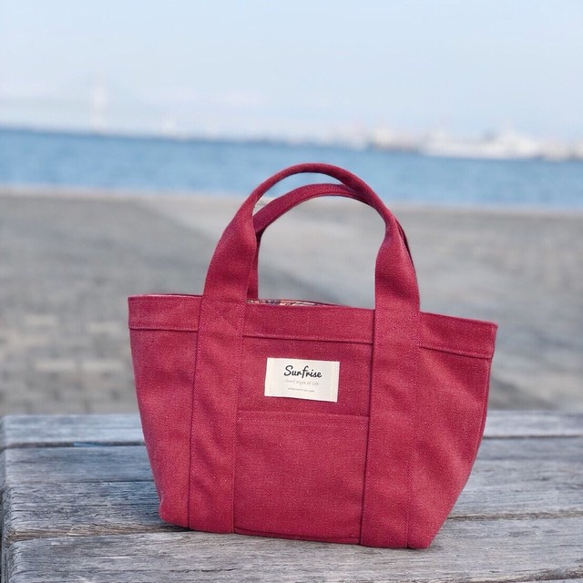 Tote bag S - Rose