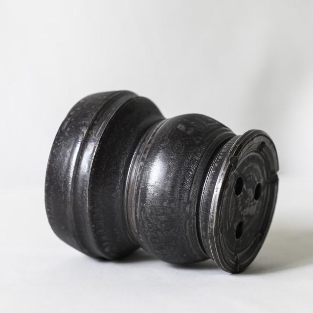 Roughness Black Plants Pot(No,08)※MEDIUM