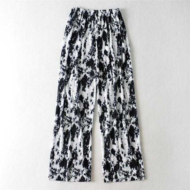 Tie dye flare pants KRE766