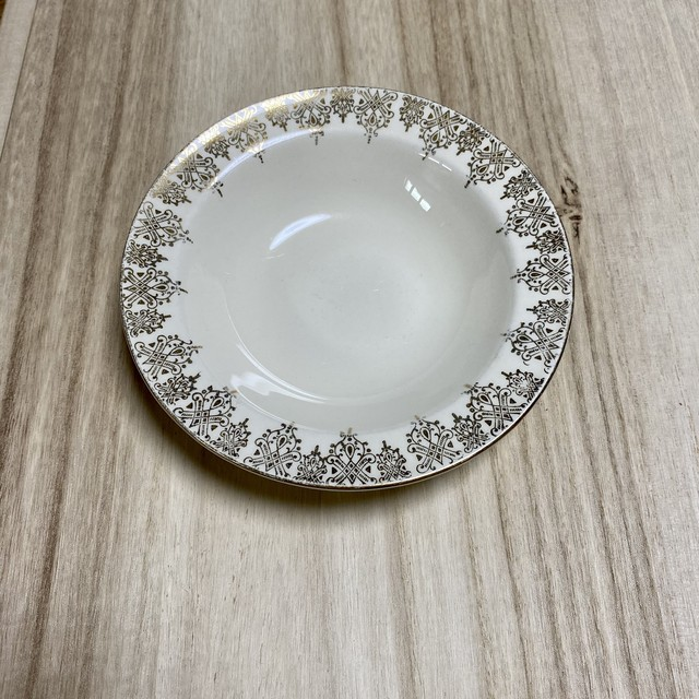 """""""THE EDWIN  M.KNOWLES CHINA-CO."""" 1930年代〜 MADE  IN U.S.A  アンティーク プレート(小)  Antique  Small  plate"""